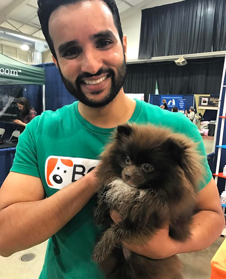 Hanging out with furry friends at Bay Area Pet Expo