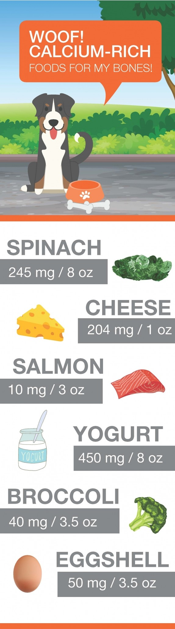 Calcium Food Sources For Dogs
