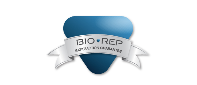 Bio-Rep Satisfaction Guarantee